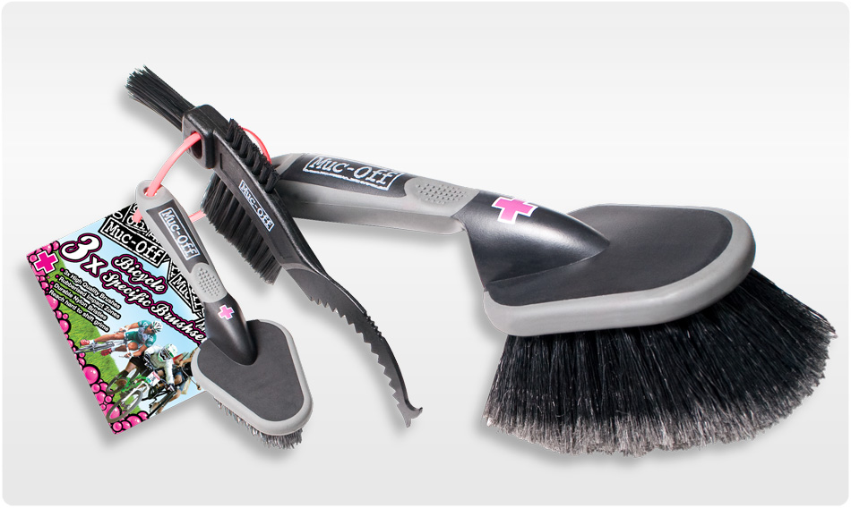 Muc Off 3x Brush Set