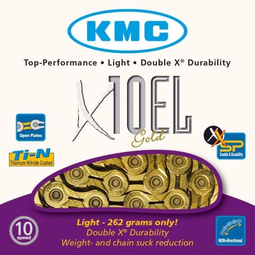 KMC X10 EL GOLD