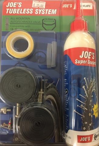 Joe's Tubeless Kit
